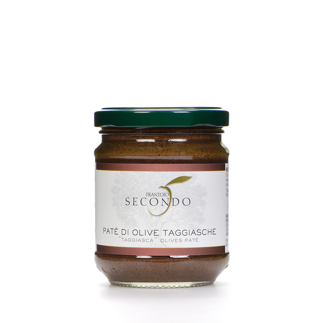 Patè di Olive taggiasche   Barattolo da 180 gr.