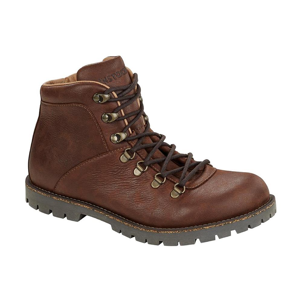 Jackson Men Dark Brown Nubuck Leather