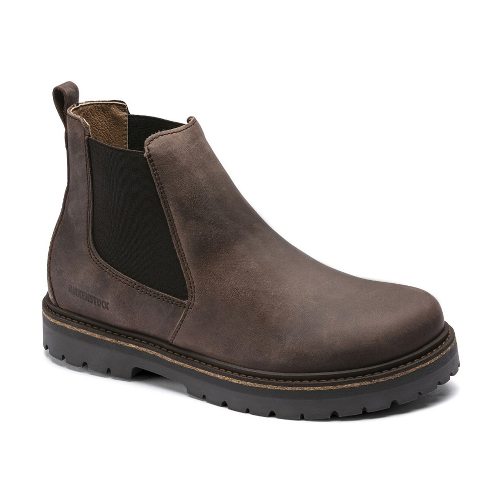 Stalon Mocha Nubuck Leather