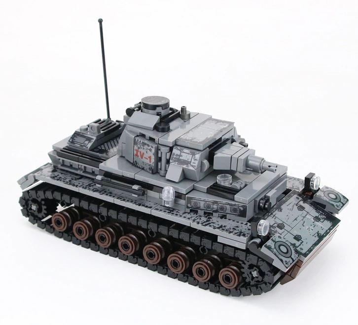 *PREORDER* WW2 Blocks: Panzer IV-1 (Panzerkampfwagen IV Sd.Kfz. 161)