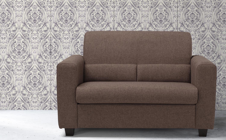 MORITA - Piccolo divano 2 posti in tessuto tecnico antimacchia e antigraffio