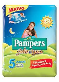 Pampers Sole-Luna 5 Junior 11-25kg