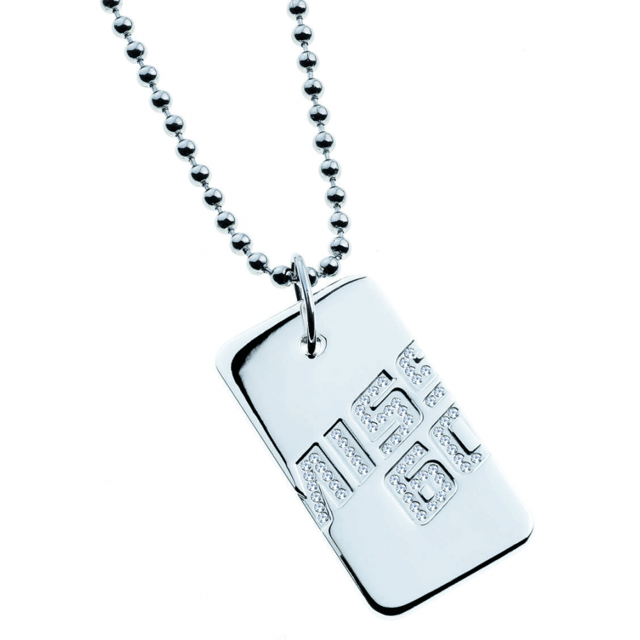 Collana donna Miss Sixty. Piastra Crystal.