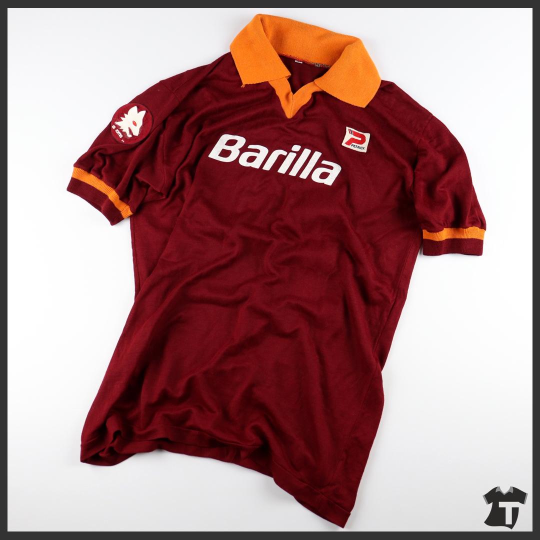 1982-83 As Roma Maglia Home