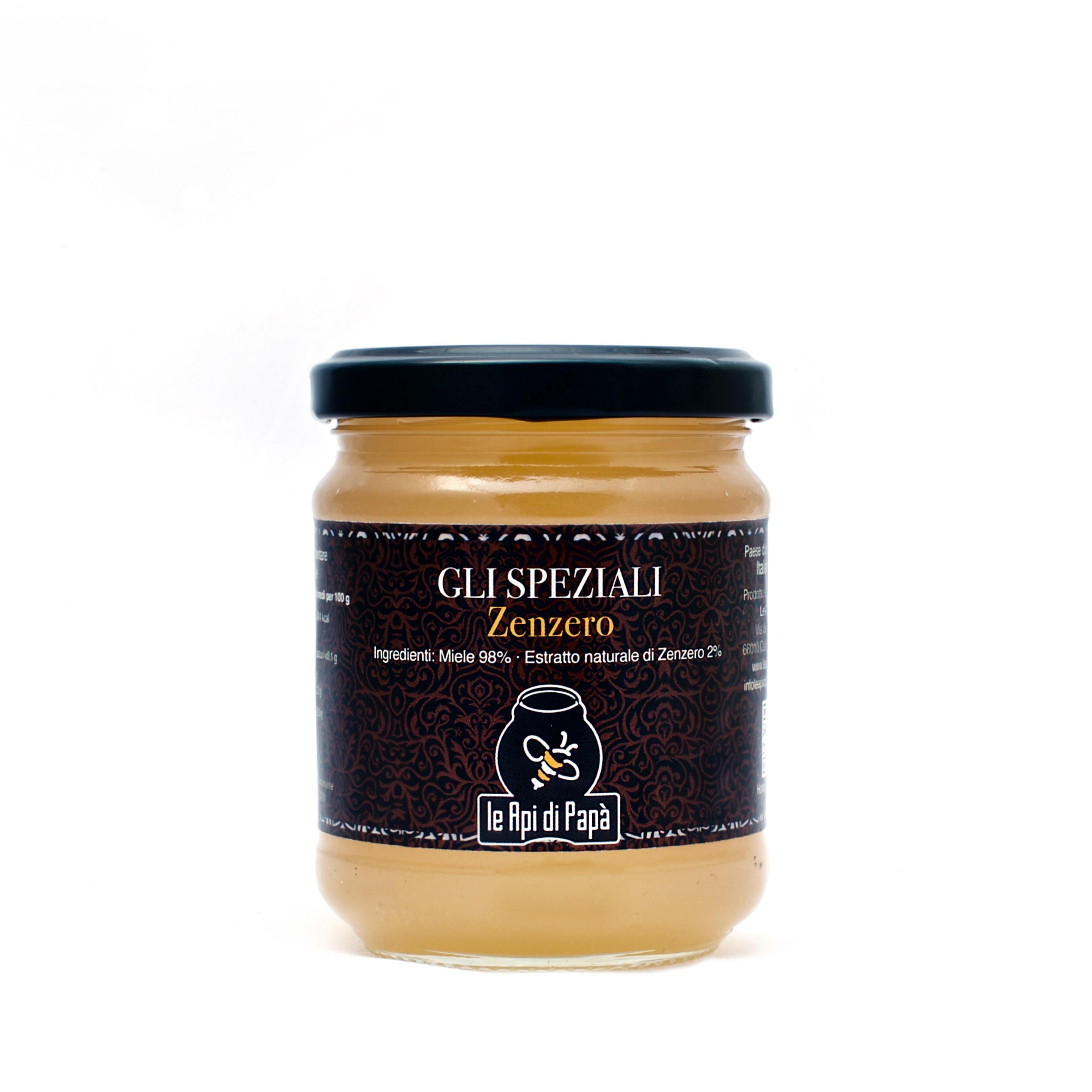 Miele con Zenzero 250 grammi