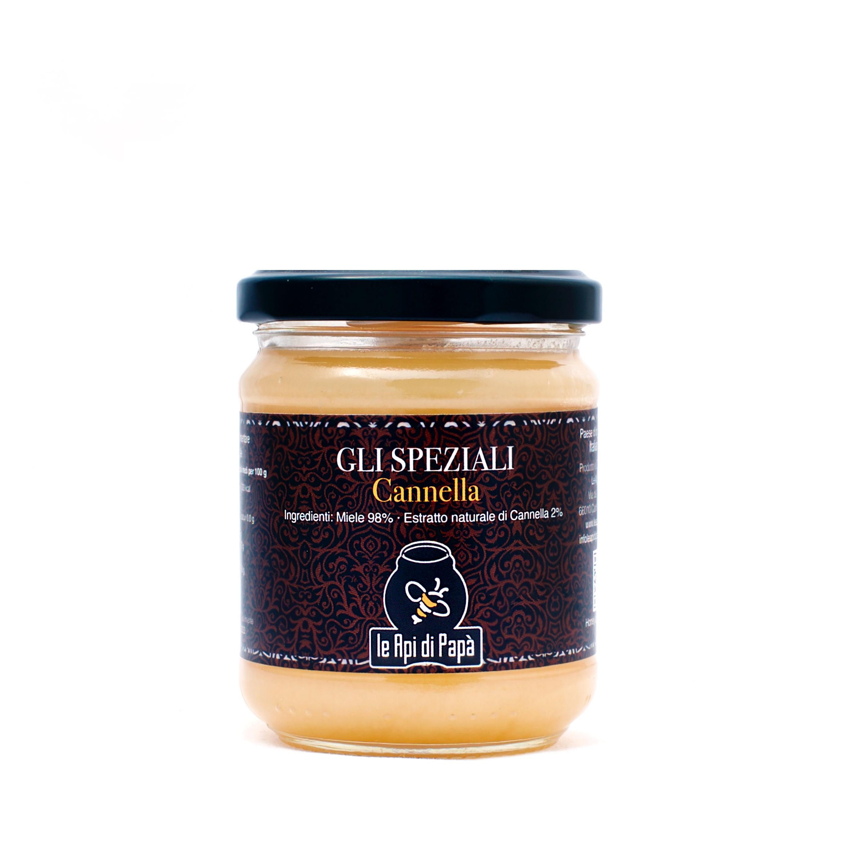 Miele con Cannella 250 grammi