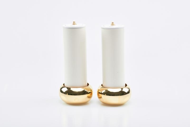 Coppia candelieri completi