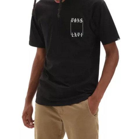 T-Shirt Vans Crescent Black