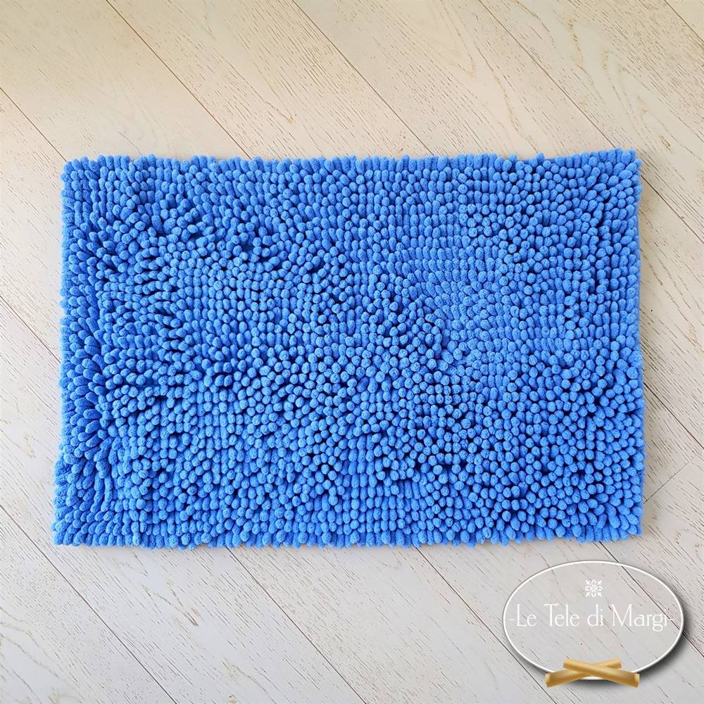 Tappeto antiscivolo passatello azzurro