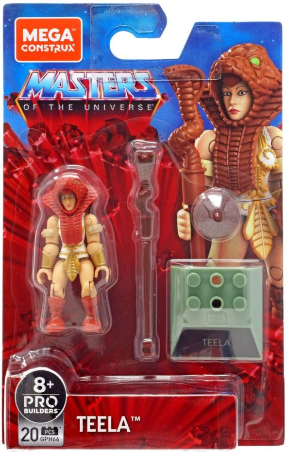*PREORDER* Masters of the Universe - Mega Construx: TEELA by Mattel