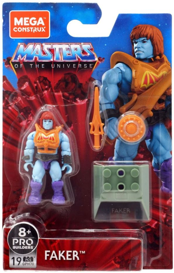 *PREORDER* Masters of the Universe - Mega Construx: BATTLE ARMOR FAKER by Mattel