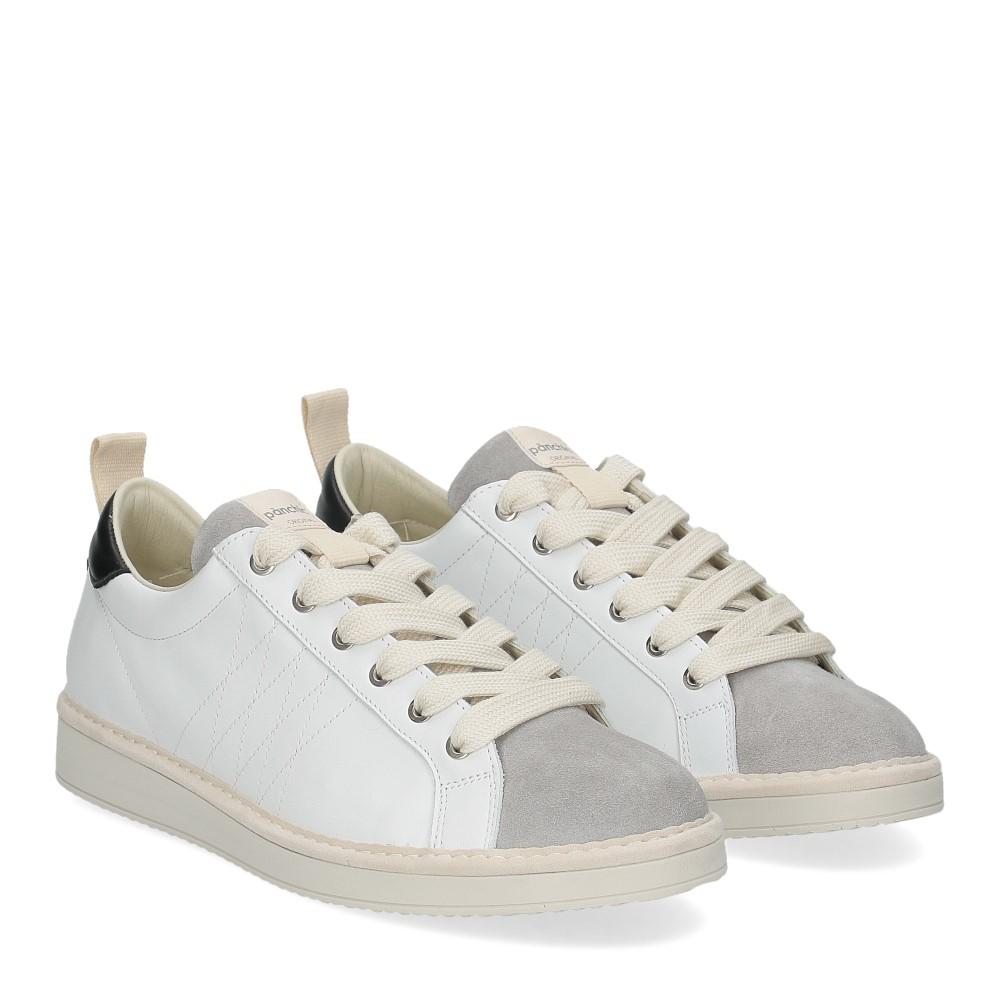 Panchic P01M leather white lightgrey black