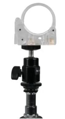 Mini Clamp con Testa a Sfera per Pavotube 6C II