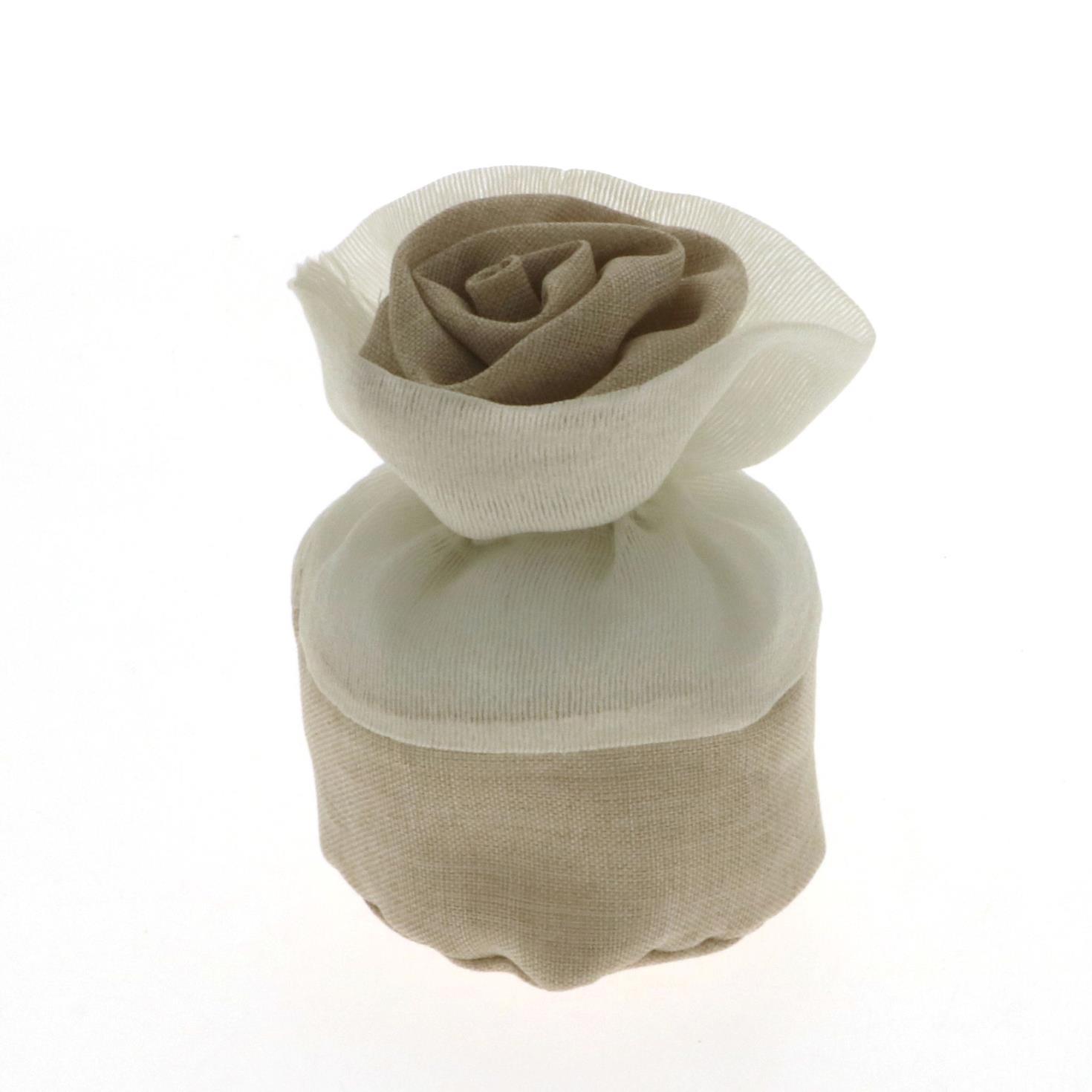 Sacchetto Generico bag forma di rosa 10 cm