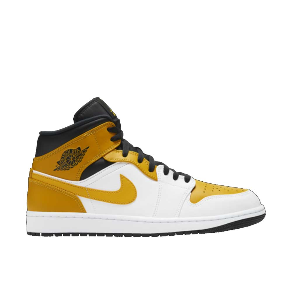 Nike Air Jordan 1 Mid University Gold da Uomo
