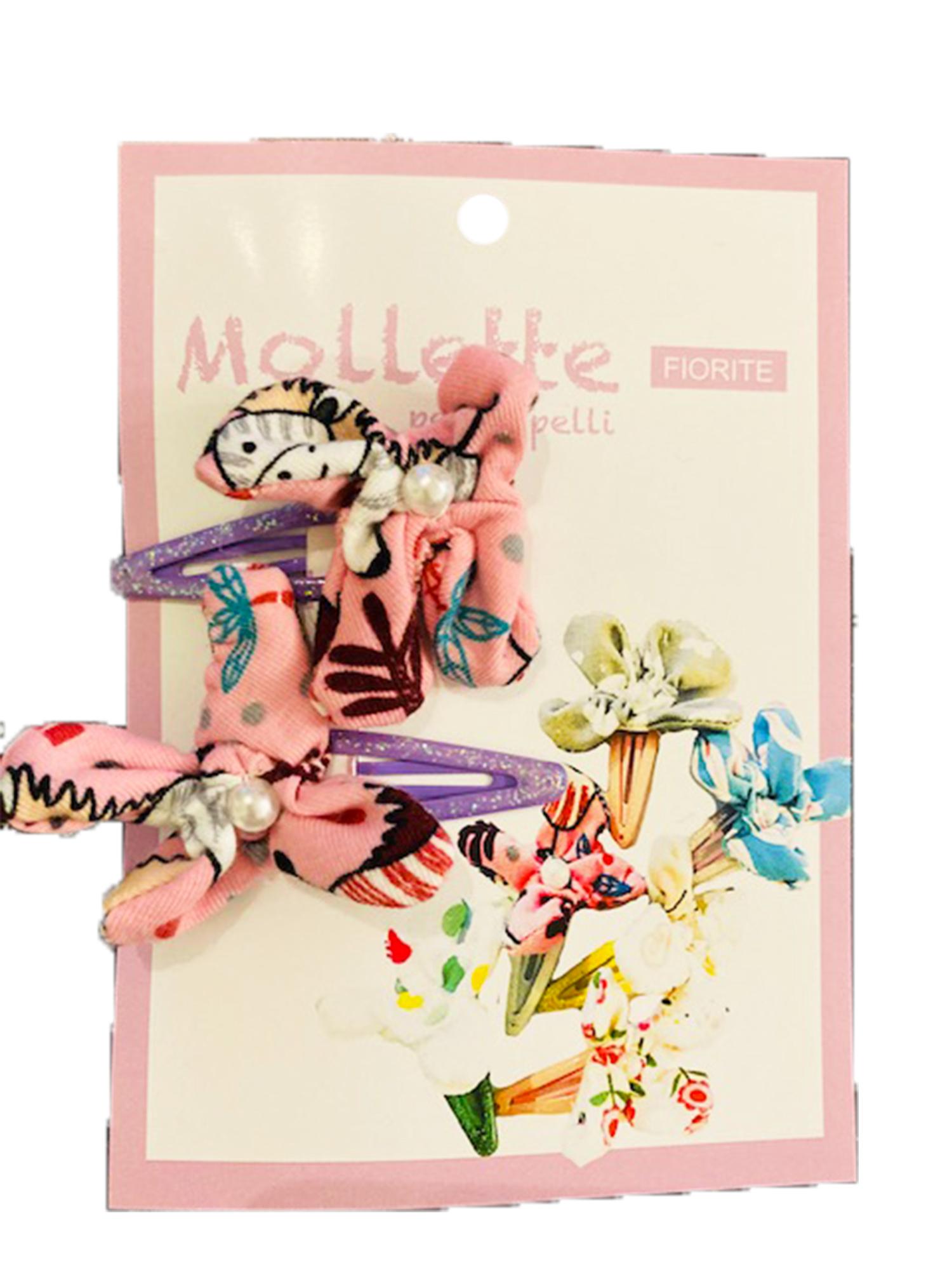 Zebra - Set di mollette viola