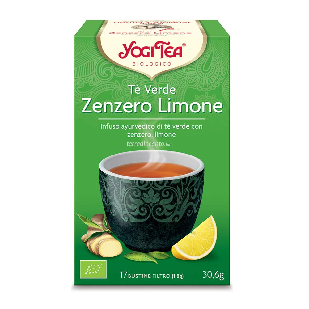 Yogi tea tè verde  zenzero e limone Yogi tea