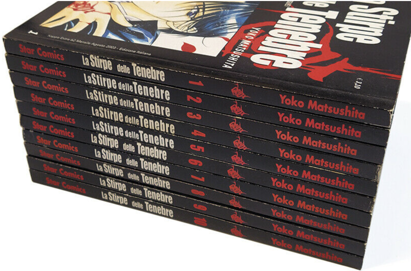 LA STIRPE DELLE TENEBRE Serie COMPLETA 1/10 Edizioni Star Comics