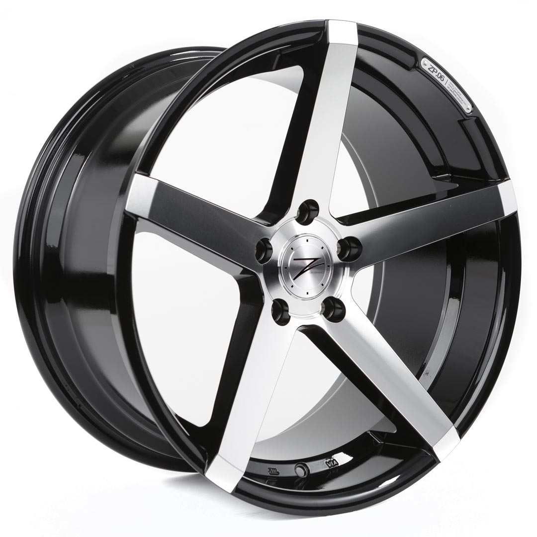 Cerchi in lega  Z-Performance  ZP.06  20''  Width 10   5x120  ET 35  CB 72,6    Phantom Black/Polish