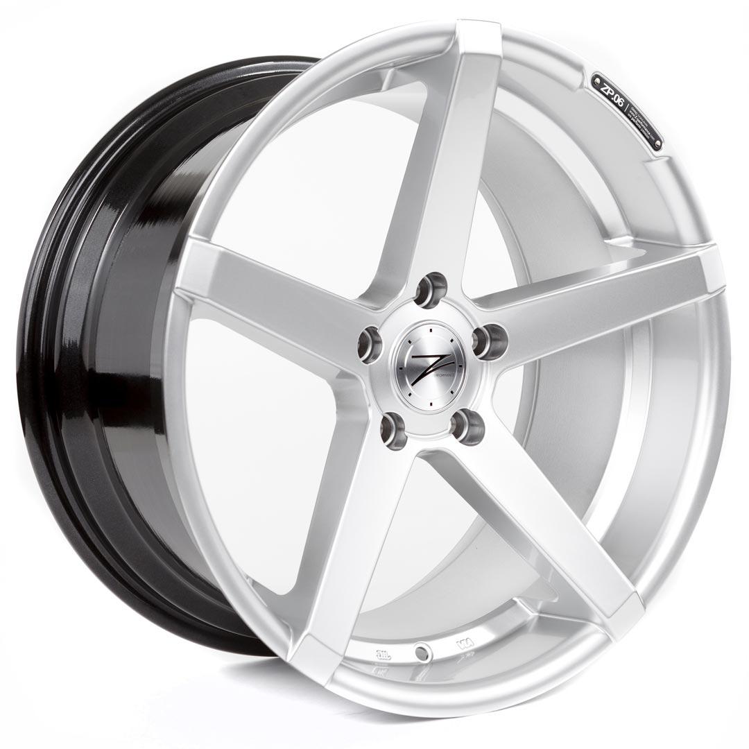 Cerchi in lega  Z-Performance  ZP.06  19''  Width 9,5   5x120  ET 35  CB 72,6    Sparkling Silver