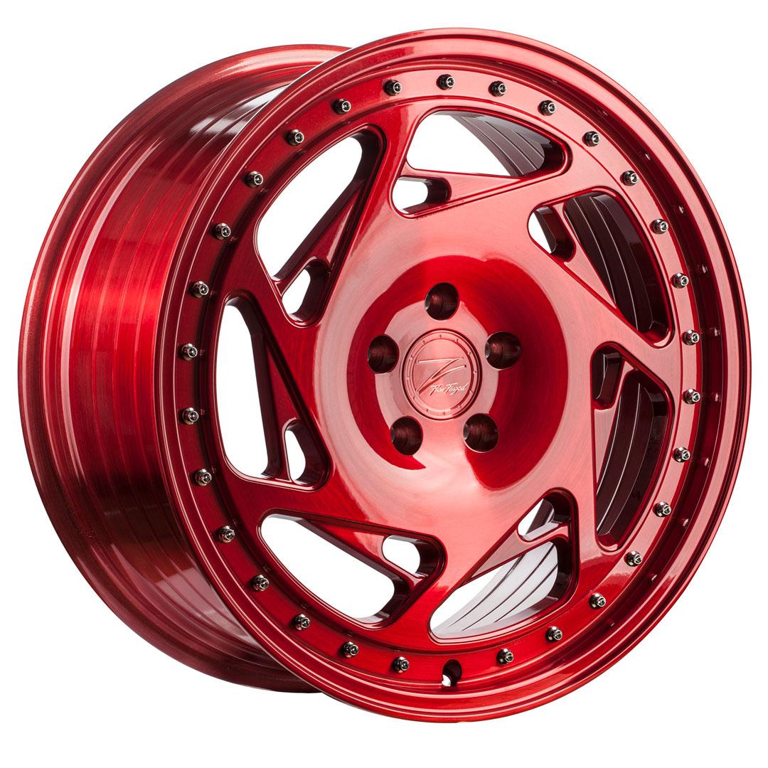 Cerchi in lega  Z-Performance  ZP5.1  19''  Width 8,5   5x112  ET 45  CB 66,6    Brushed Candy Red