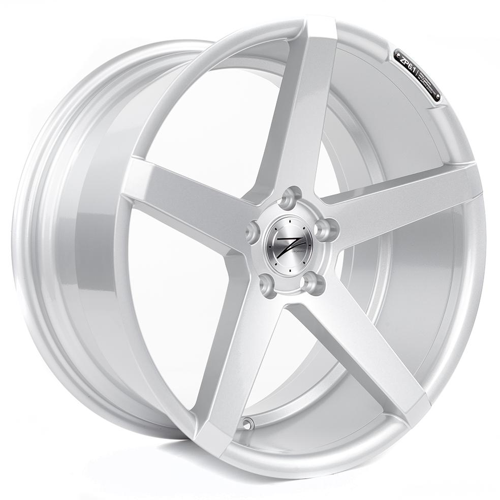 Cerchi in lega  Z-Performance  ZP6.1  19''  Width 9   5x120  ET 45  CB 72,6    Sparkling Silver