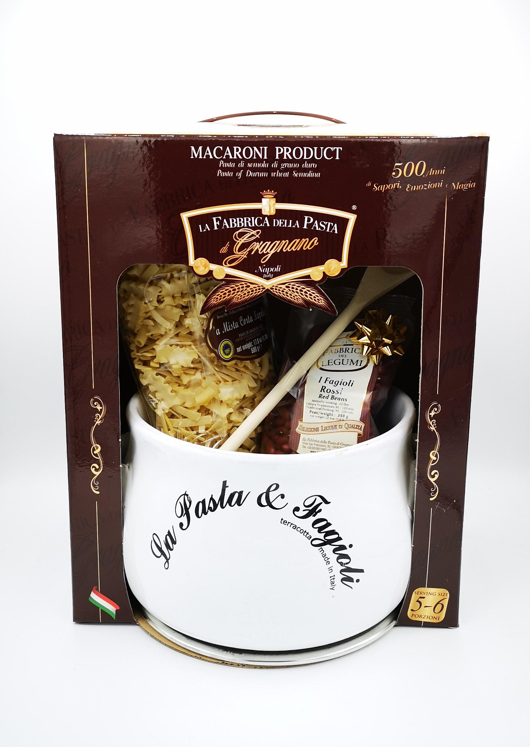 La Fabbrica Della Pasta Di Gragnano Pasta e Fagioli Bianco