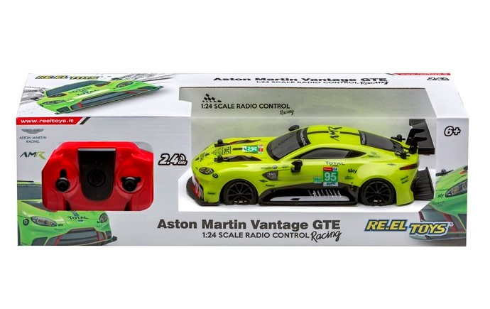 ASTON MARTIN VANTAGE GTE 1:24 2283 REEL TOYS