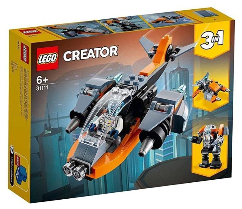 LEGO 31111 Cyber-drone 31111 LEGO S.P.A.