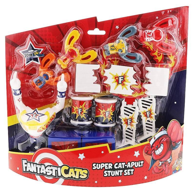 FANTASTICATS SUPER CAT-APULT STUNT SET 333125 GOLIATH