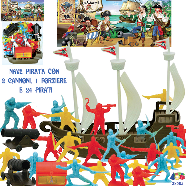 BUSTA VASCELLO PIRATI C/ACC.LA CIURMA 28505 GINMAR srl