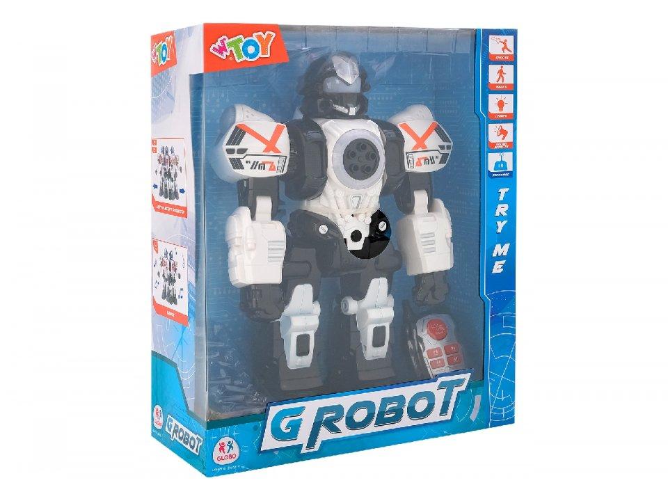 ROBOT C/LUCI/SUONI/PROIETTILI TRY ME 39089 GLOBO