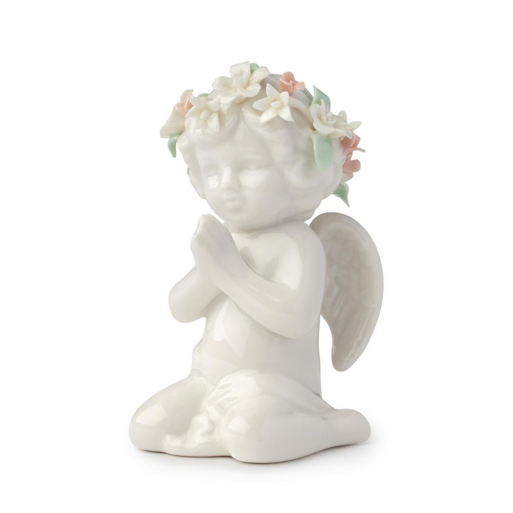 Royal Class - Angelo Eden inginocchiato in porcellana
