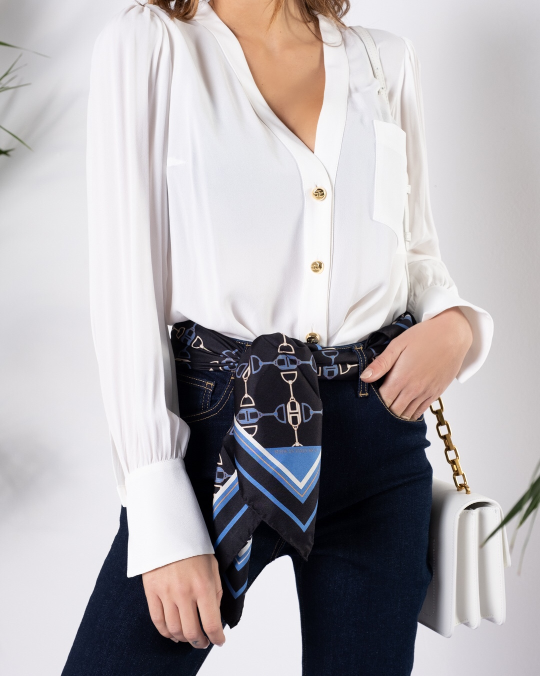 Camicia Elisabetta Franchi SS21