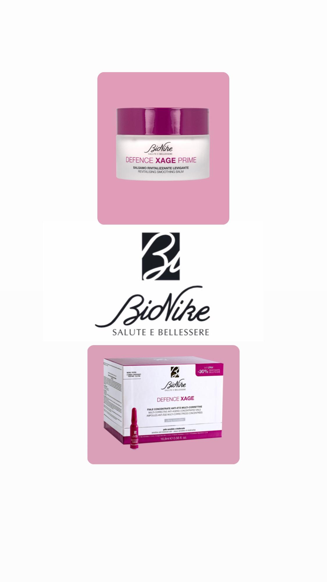 Bionike defence xage prime balsamo + fiale