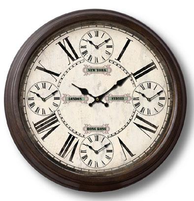Orologio tondo in metallo cm 70