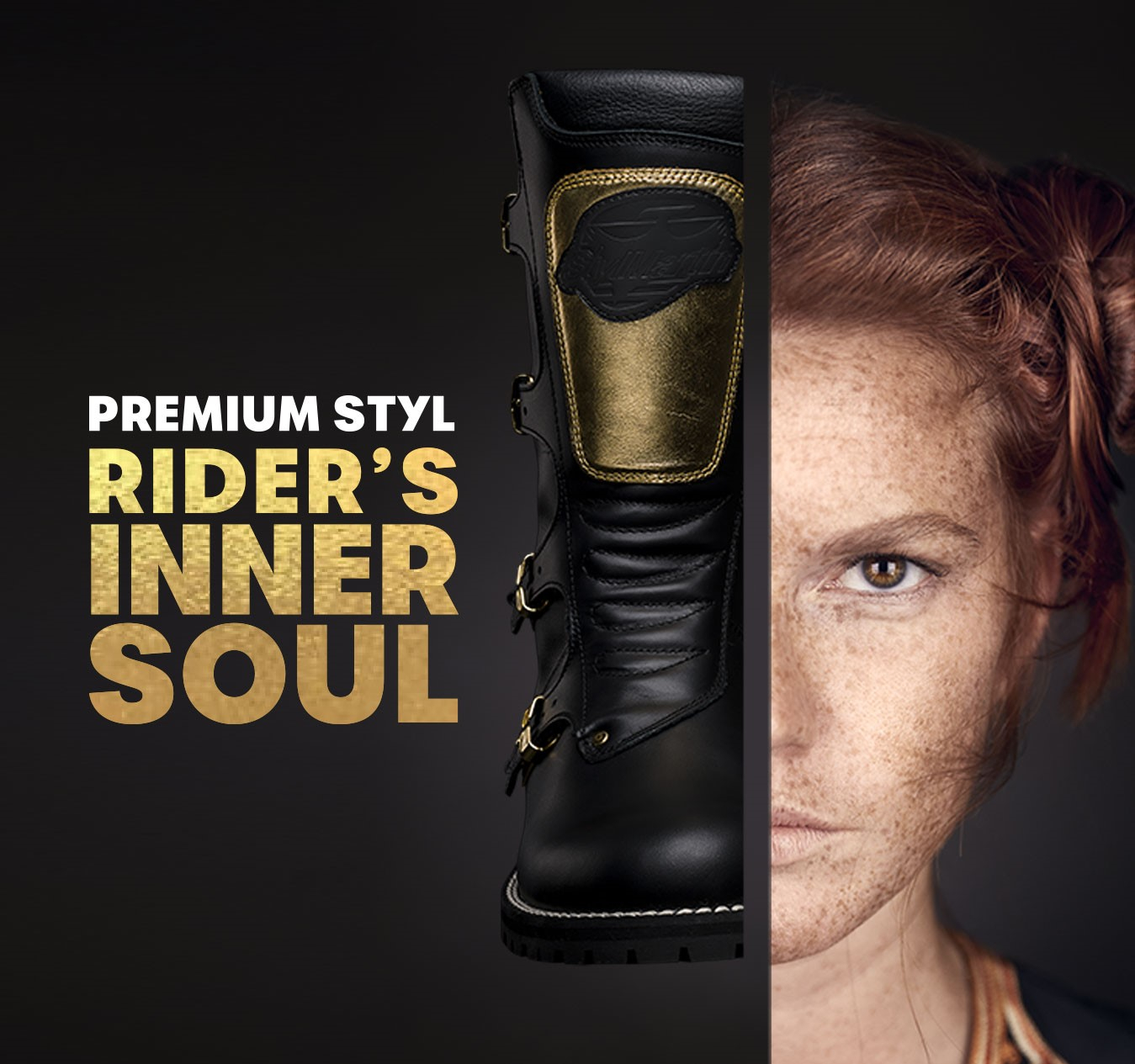 Premium Styl women's fashion shoes: Rider's Inner Soul. Asia, a story of freedom and independence.
