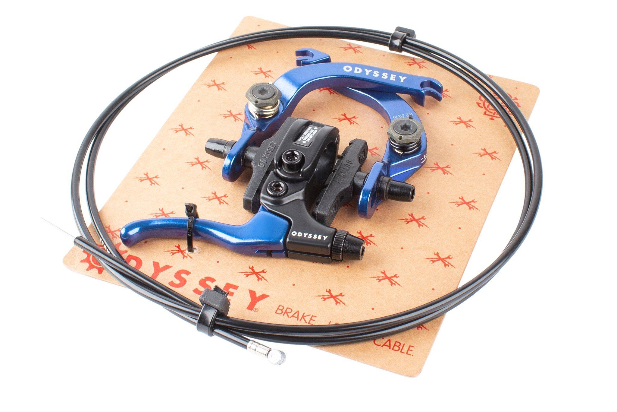 Odyssey Evo 2.5 Brake Kit   Colore Anodized Blue