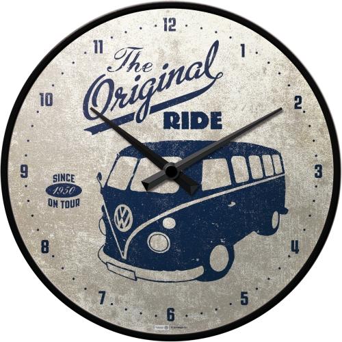 Orologio Volkswagen The Original Ride metallo e vetro cm 31