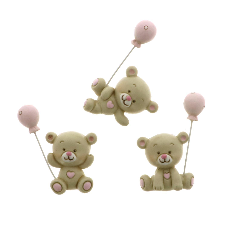 Quadrifoglio - collezione Cloe, magnete a forma di orsetto