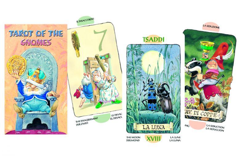 78 carte Tarocchi degli Gnomi