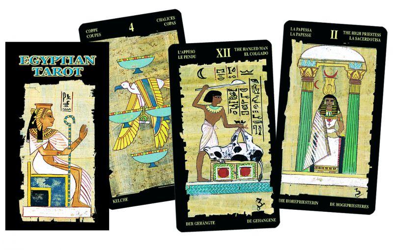 78 carte Tarocchi Egiziani