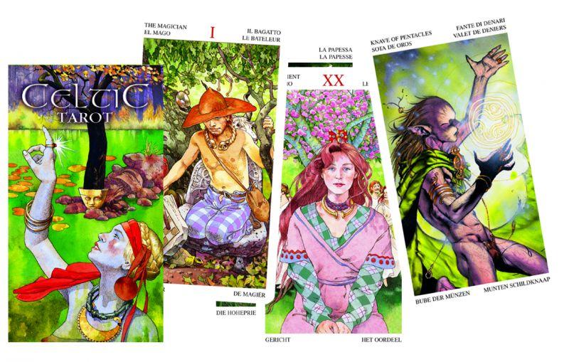 78 carte Tarocchi Celtici