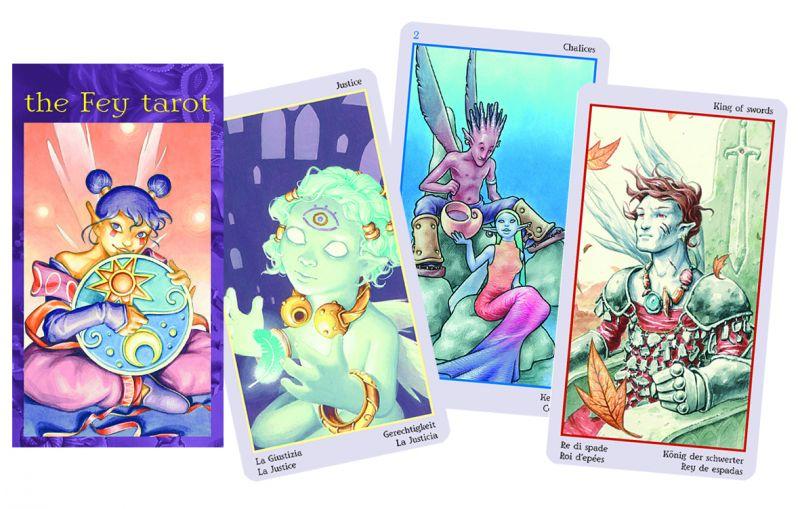 78 carte Tarocchi delle Fate
