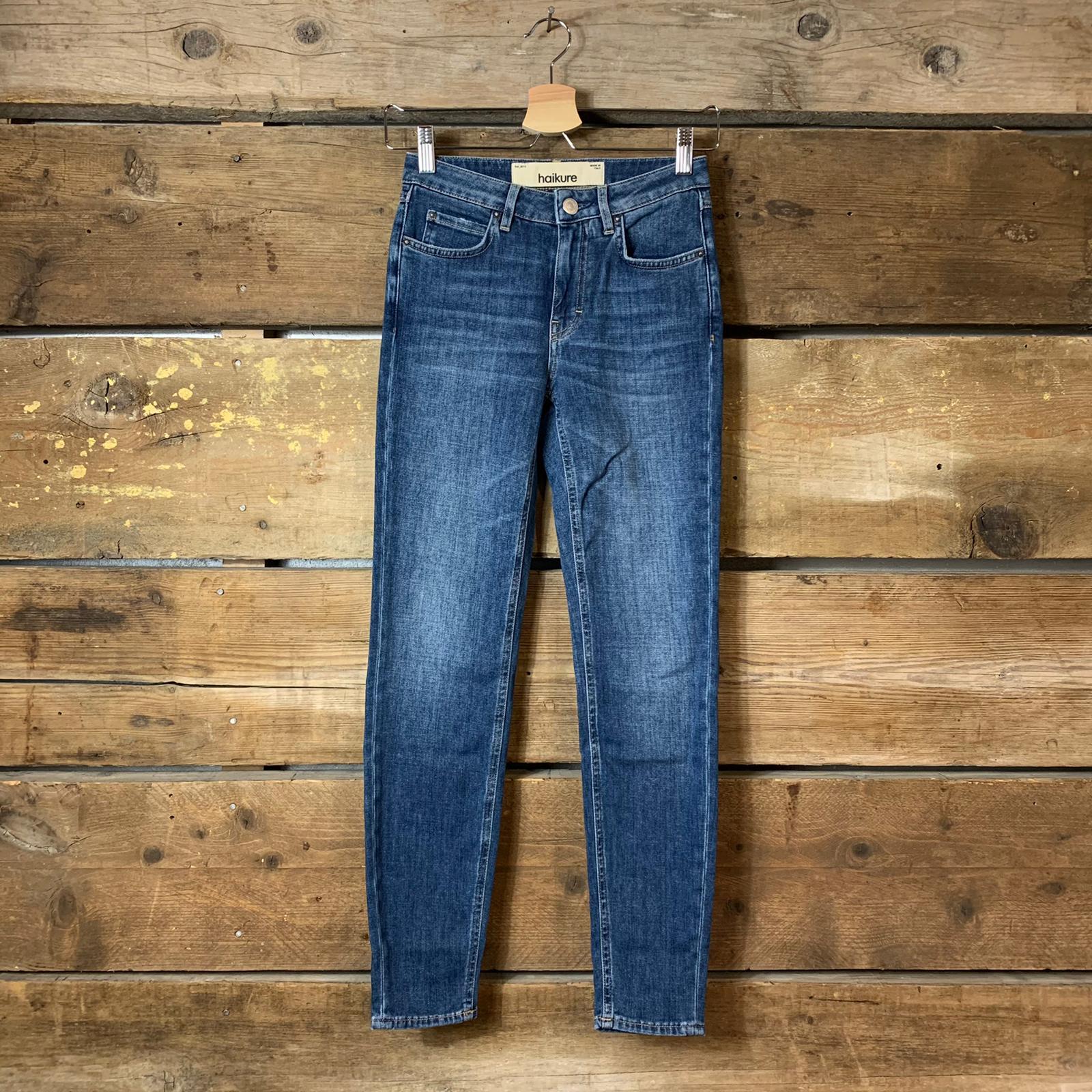 Jeans Haikure Donna Moorea Comfort Pure Blue Denim Vintage