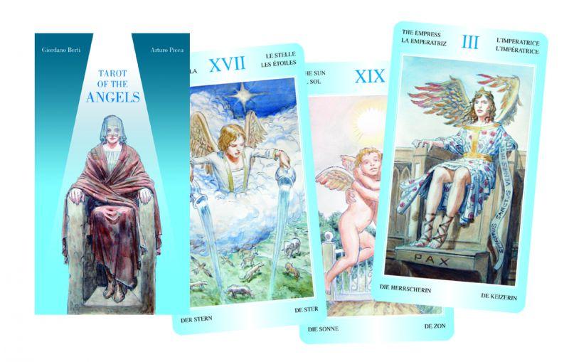 78 carte Tarocchi degli Angeli