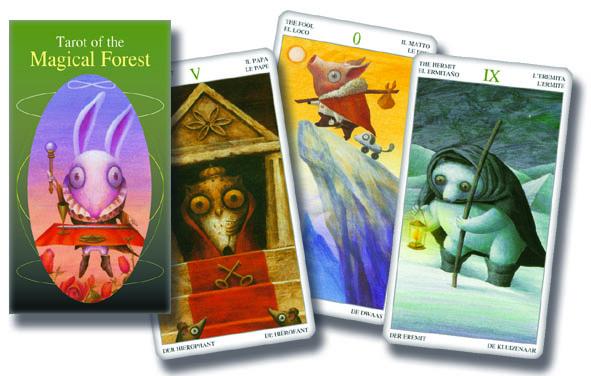78 carte Tarocchi della Foresta Magica