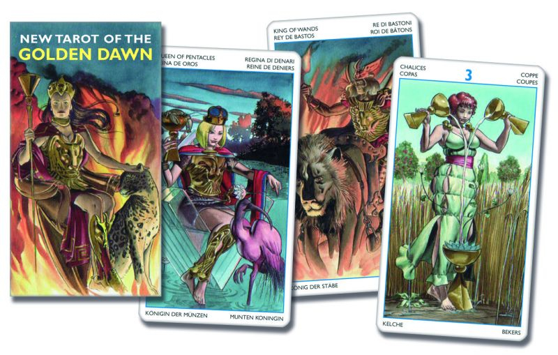 78 carte Tarocchi della Golden Dawn