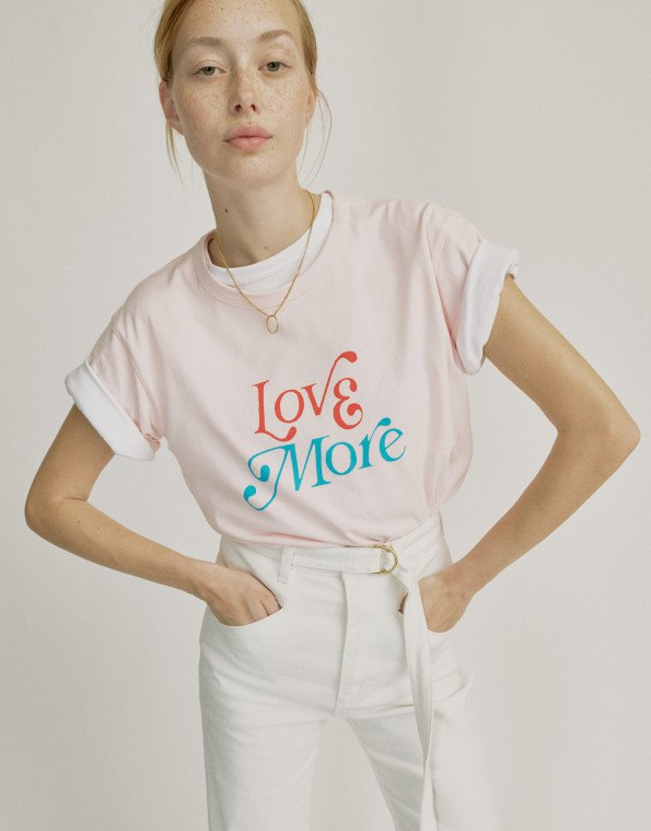 T-shirt love more philosophy di lorenzo serafini