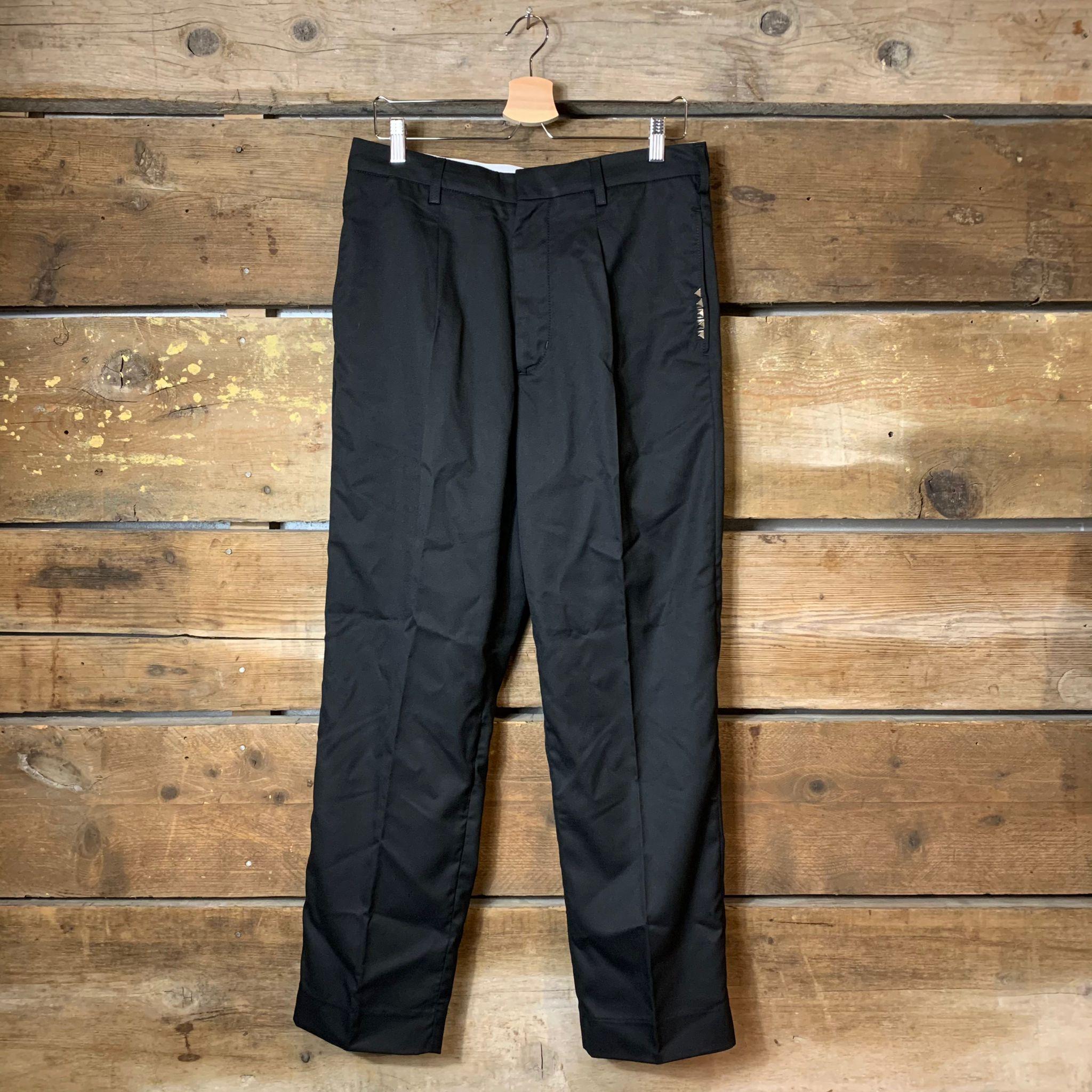 Pantalone Amish Supplies Uomo Victor Twill con Dettaglio Borchie Nero